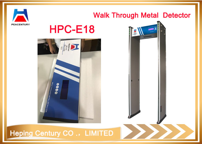 Hot Sale 18 Zones Walk Through Metal Detector for Security Inspection