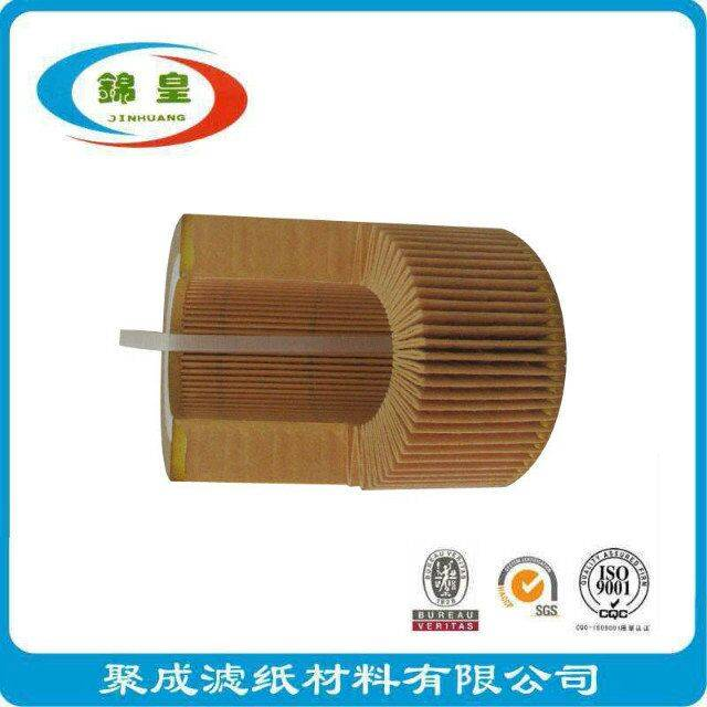 Automobile motorcycle engine oil filter using paper