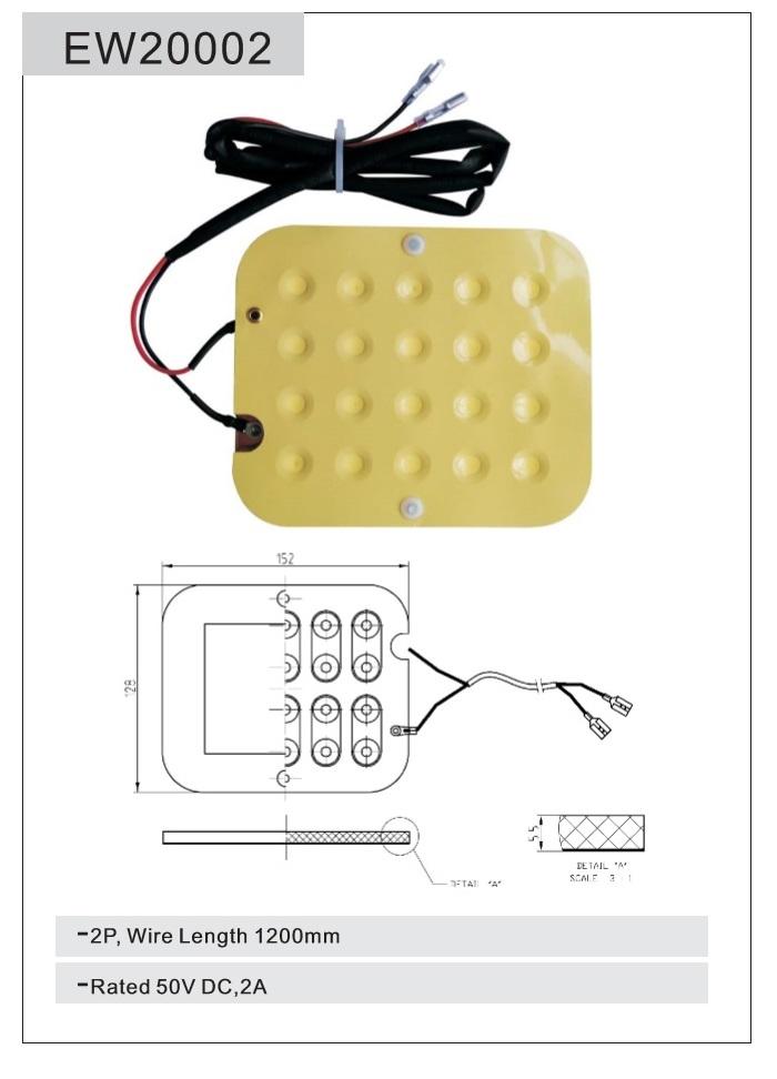 EW20002 Seat Switch Sensor Seat Part Automatic Braking Sensor Forklift Part