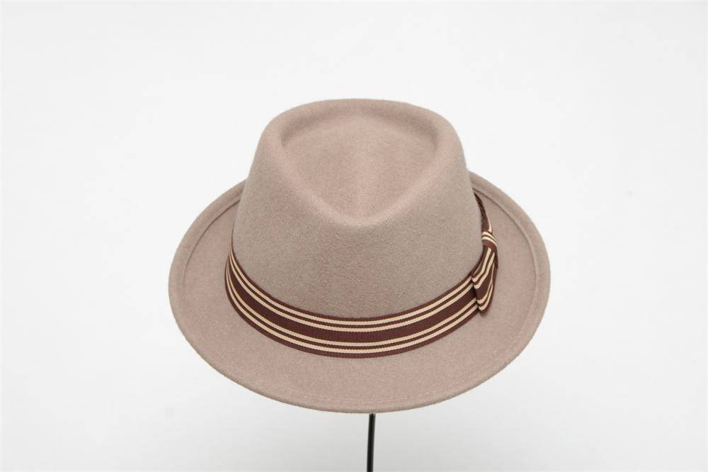 Wool Felt Bucket Hat For Woman (FW104029)