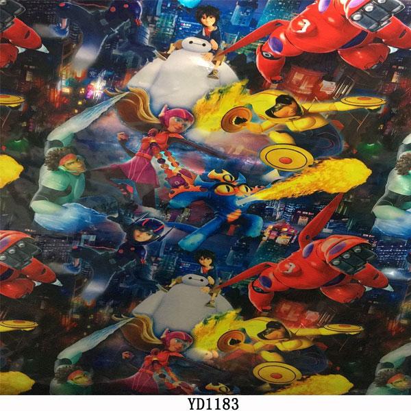 Popular PVA cartoon bomb stickers water transfer printing film hydrographic film