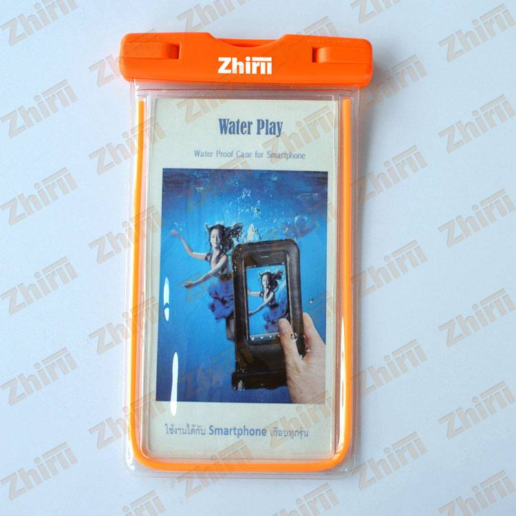 2016 best selling personalized PVC cell phone waterproof phone pouch
