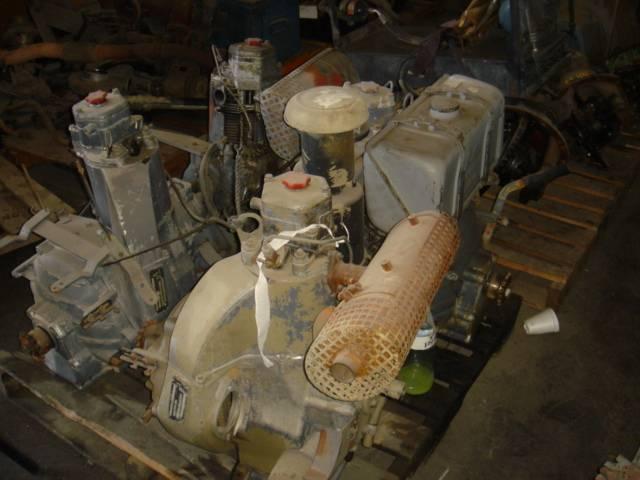 Deutz diesel engine, one cylinder