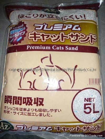 5L strip cat litter 5mm-8mm