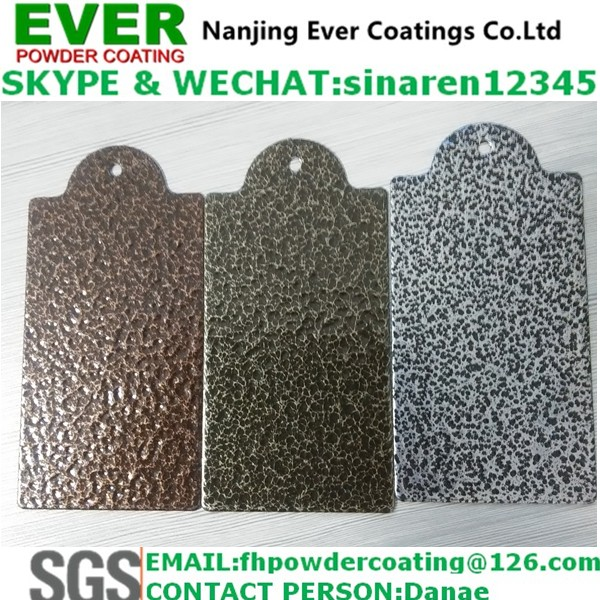 hammer texture finish powder coating