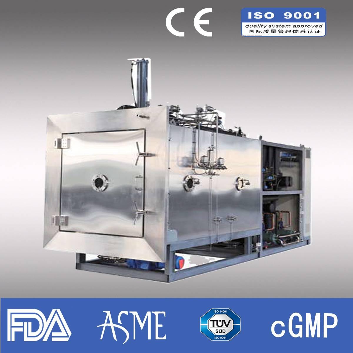 Lyophilizer/ Pharmaceutical lyophilizer/ industrial lyophilizer/Capacity 200kg