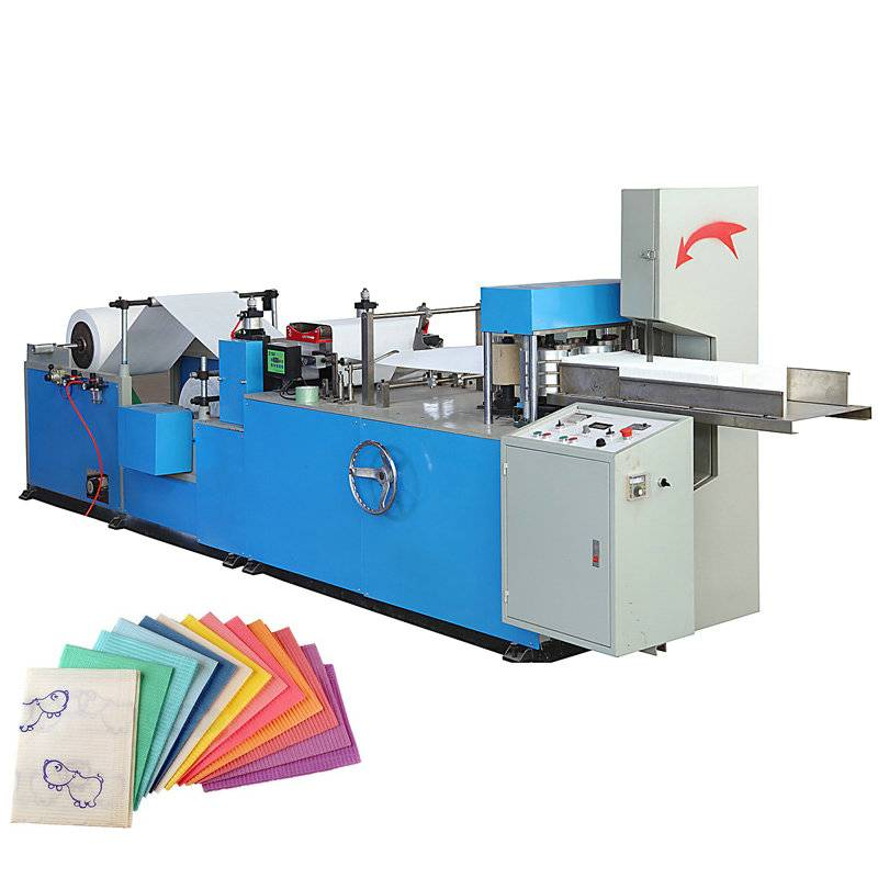 Automatic Disposable Dental Bibs Napkin Paper Making Machine