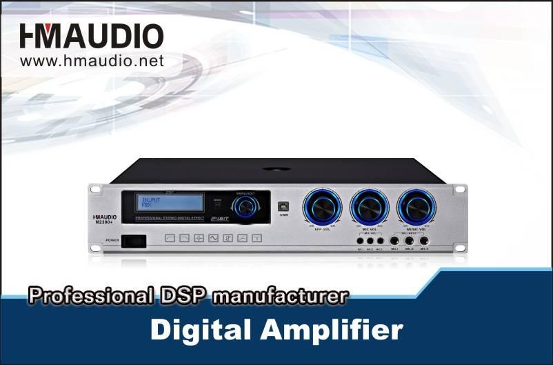 M2300 DSP karaoke amplifier High Quality 300w