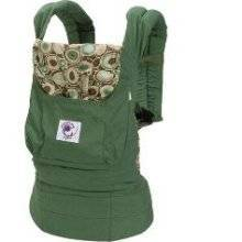 Ergo Baby BCO313PR Organic River Rock Green Baby Carrier