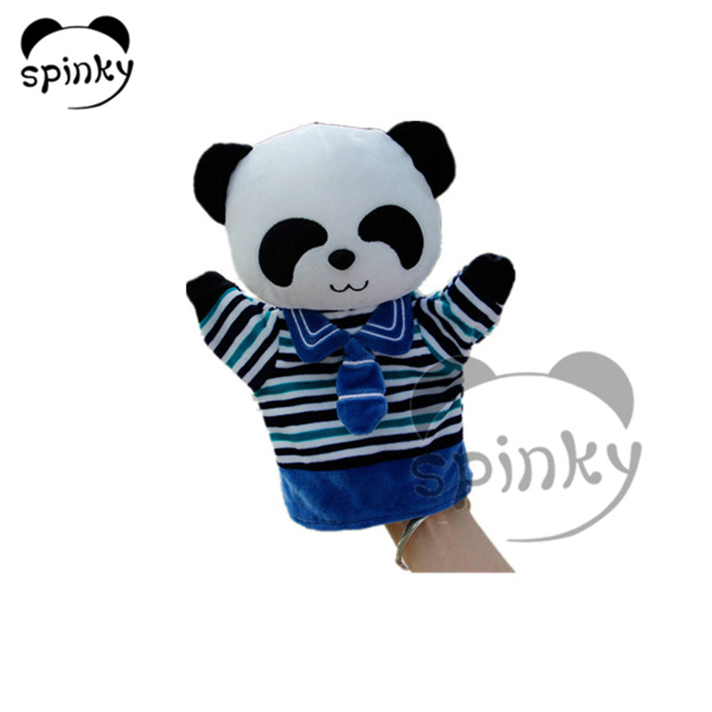 Plush toy hand puppets