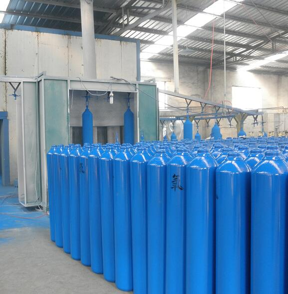 Seamless steel gas cylinder