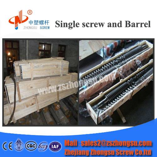 Recycled Film Blown Molding Conical Twin Screw and Barrel