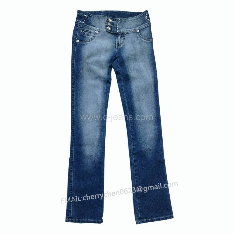 2014 Brand Fashion Ladies Jeans High Quality Cheap Price Hot Selling