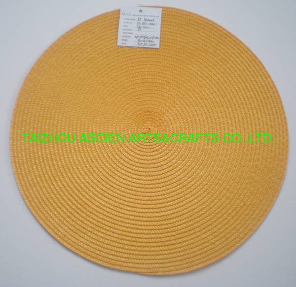 Round Placemats Waterproof Oilproof YS-PP12-004R
