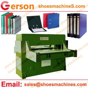 PP Plastic Document File Folder Die Cutting Machine