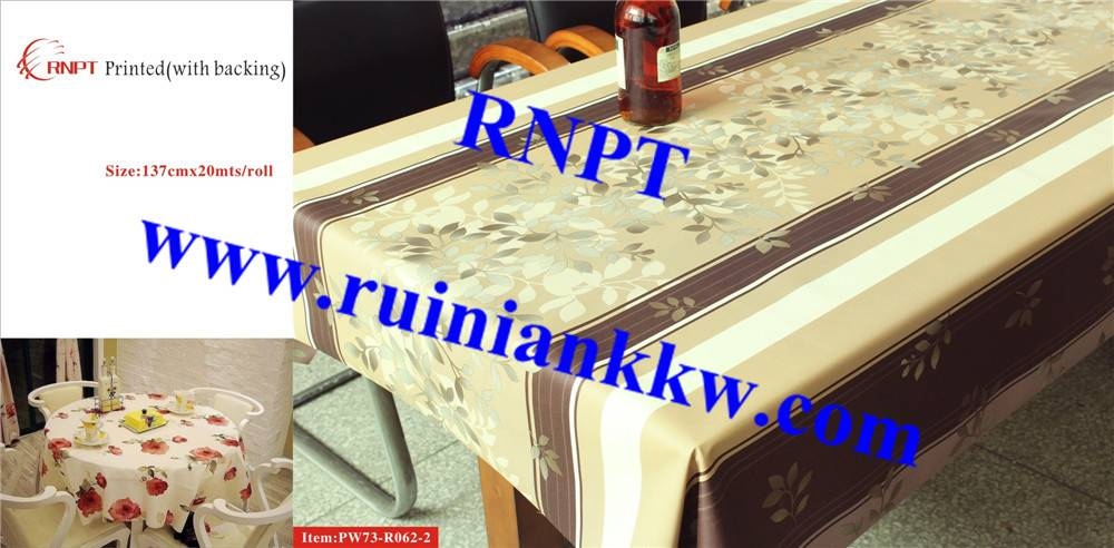 Iran hot sales RNPT PW73-R062-2 3D Printed Table Cloth with backing for Israel, Iran, Turkey