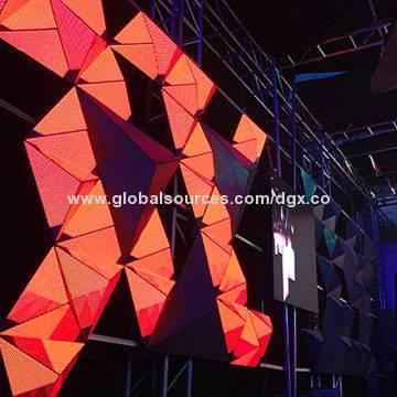 DGX P5 Three Pyramid LED Stage Background Wall