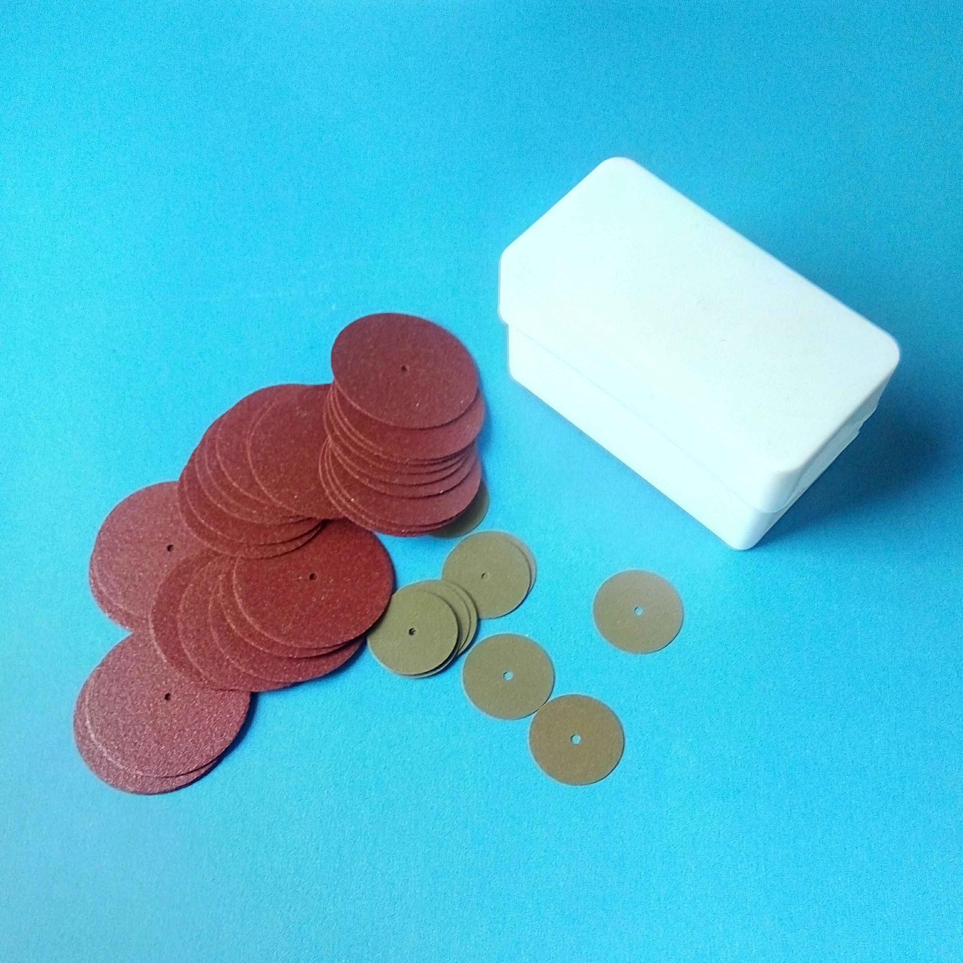 Dental Cutting Discs For Dental Alloy and Ceramic Bridge & Brown( Red , Green)