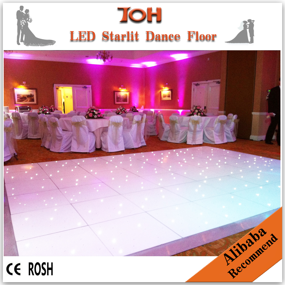 Led starlit dance floor wedding dance floor for sale