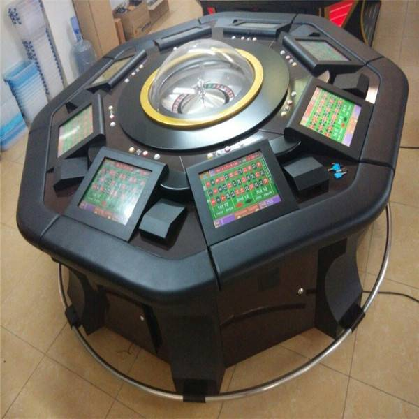 Standrad Roulette Gambling machine for 8 Players