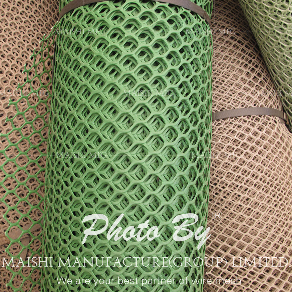 virgin HDPE material Extruded Plastic Netting