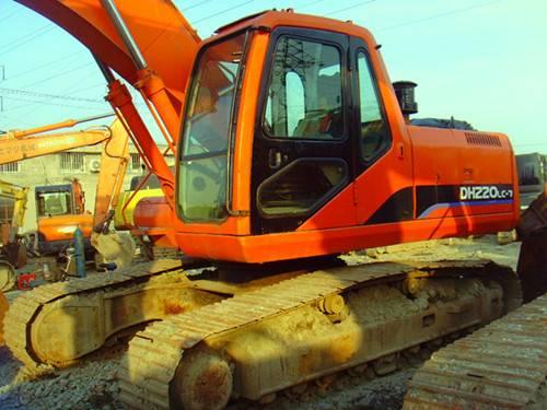 Used Daewoo Excavator DH220