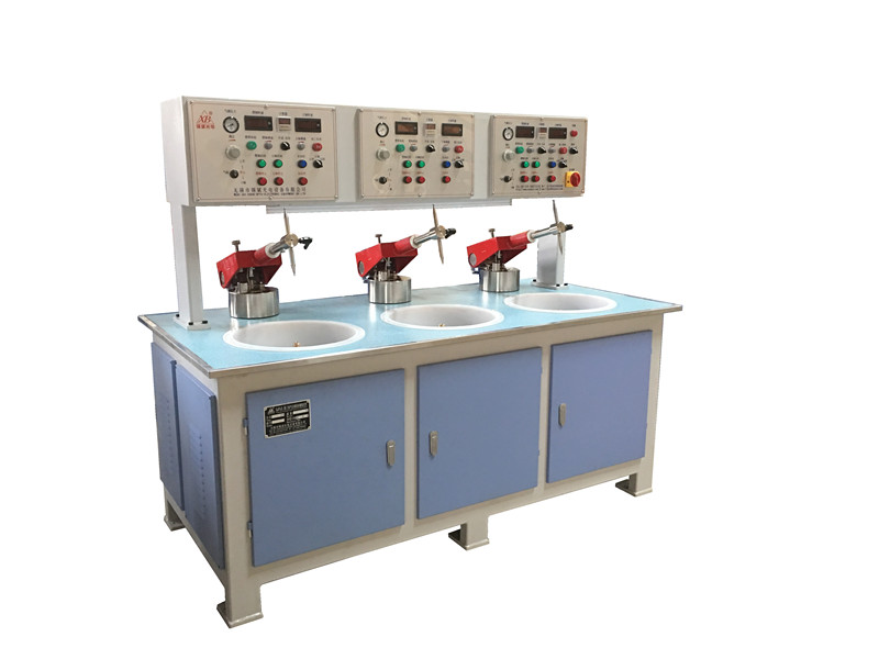 QJP30.3B Three-axle air pressure precision grinding polisher