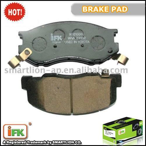 GDB3157 0446528340 TOYOTA PREVIA ceramic brake pad supplier
