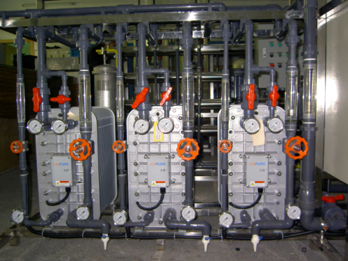 EDI Equipment /Electrodeionization system for ultra pure water