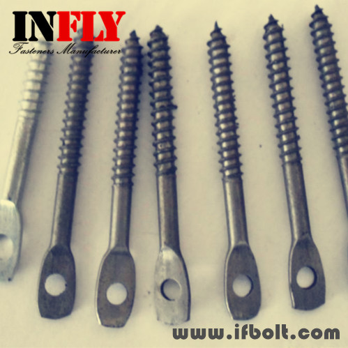 Flat Head Screw With Hole,Squashed Head Bolt-Infly Fasteners Manufacturers