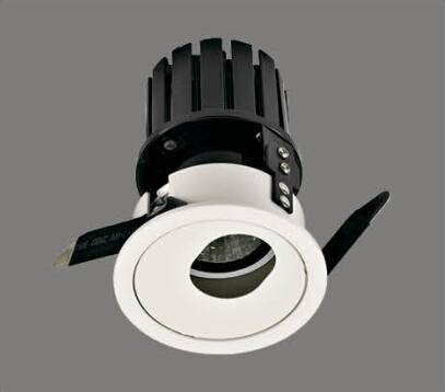 Led commercial down light shop light spot light 15W Ra80 100lm/W aluminium housing