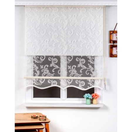 PAG Curtain, Double Mechanic Tulle Roller Blind