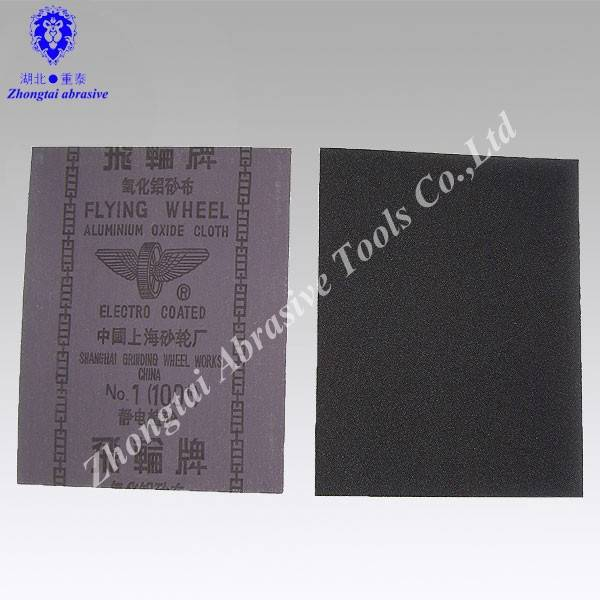 Flap wheel sand cloth sheet