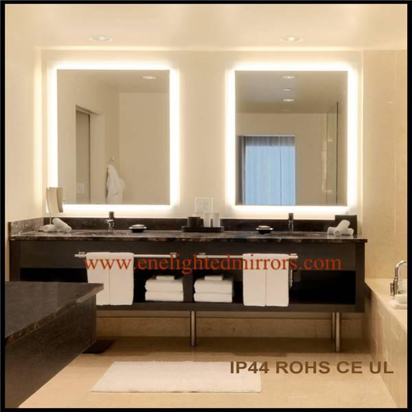 Led illumiated mirror
