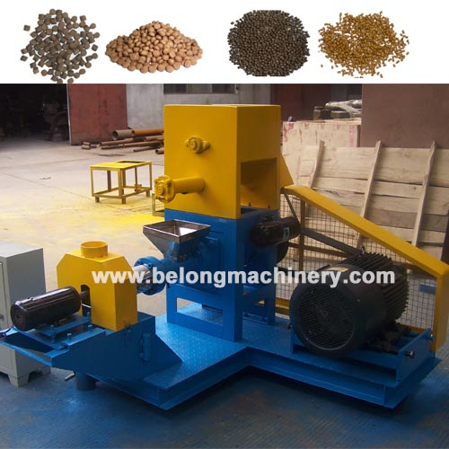 Diesel Electric Dry Type Floating Fish Feed Pellet Extruder Machine