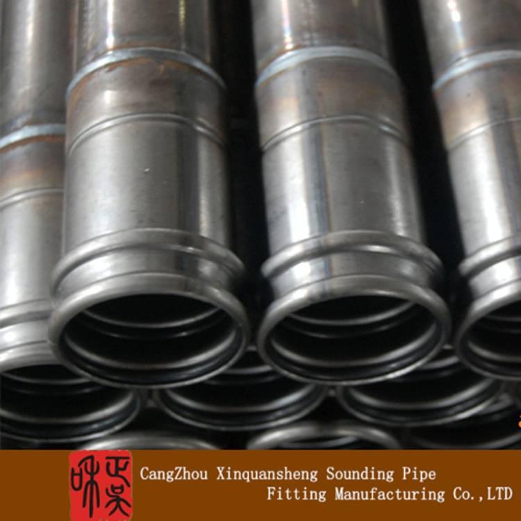 Birdge pile foundation test tube