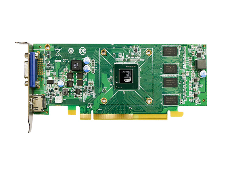 Made in China PCIE interface graphics card based on JM7201 high-performance graphics processor half