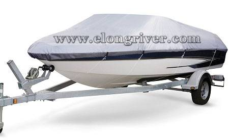 Silver Oxford Storage Used Boat Cover