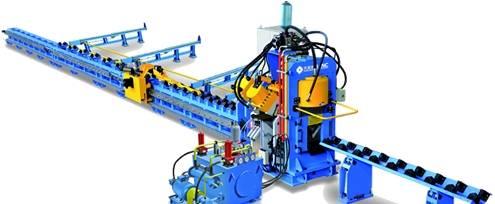 CNC Angle Punching Line Model APM2020