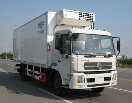 9 Ton DONGFENG refrigerated truck