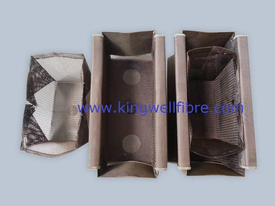 HT-Rigid Fiberglass Distribution Combo Bag for Aluminium Slab Casting