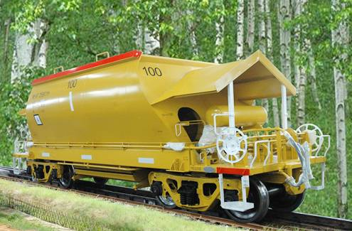 AHCF Ore Hopper wagon for Australia
