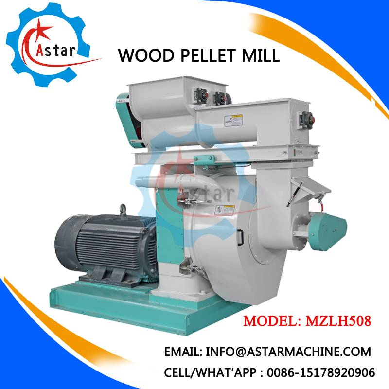 Highly Capacity Pellet Mill for Cardboard Sawdust For Sale