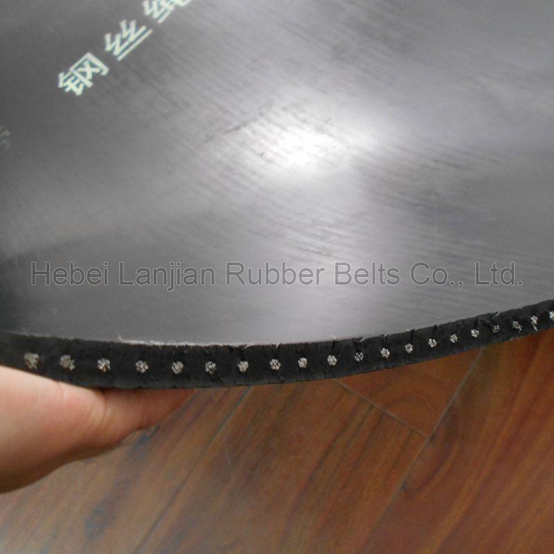 St Steel Cord Rubber Conveyor Belt (ST630-6300)