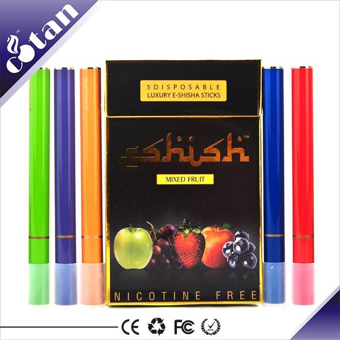 Europe top seller disposable e cigarette 5pcs in one pack e shisha e cigarette hookah penwith factor