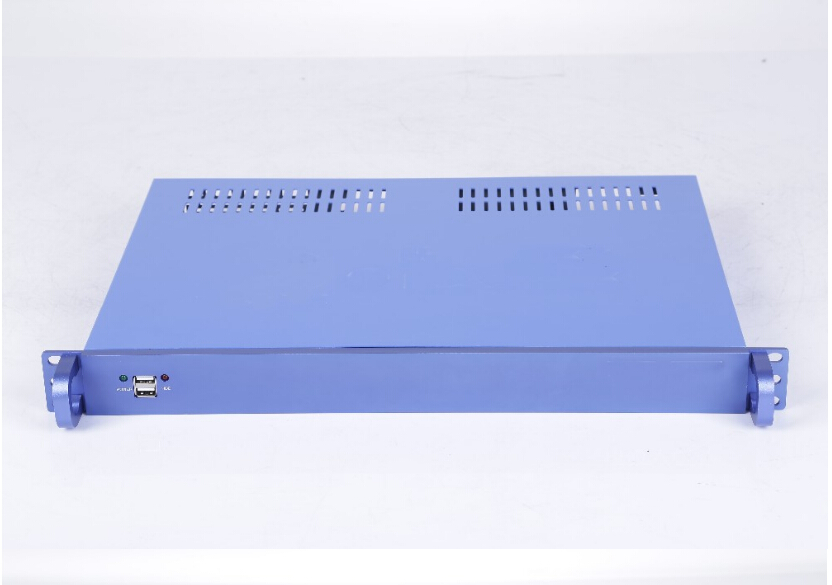 mini itx diy 1u rack 2.5 hdd network security server case server chassis