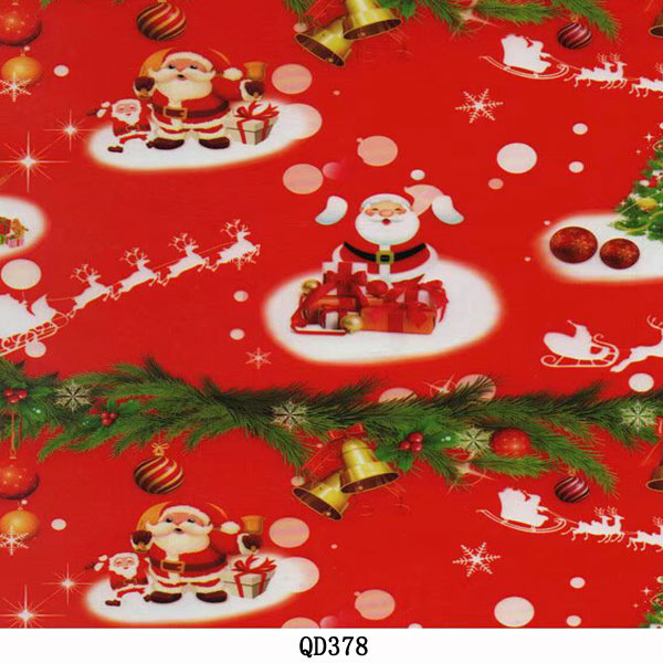 hydrographic film transfer of Christmas olders water transfer film