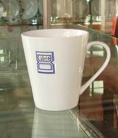 v-shape mug