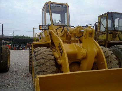 used loaders CAT 966E