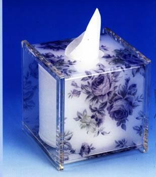 Acrylic paper towel holder Toilet Paper Holder Tissue Holder